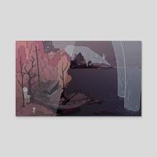A Fateful Meeting - Acrylic by Alik Israfilov