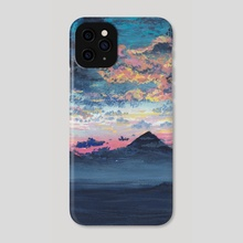 Misty Mountains  - Phone Case by Kristine Linnea