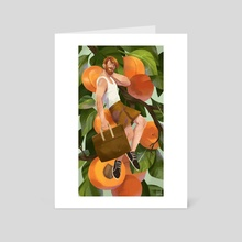 Apricot - Art Card by Maike Plenzke