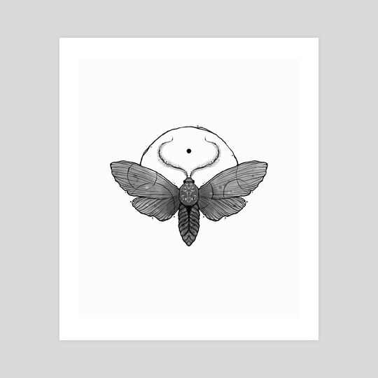 Sun Moth by Novilunium Eyes
