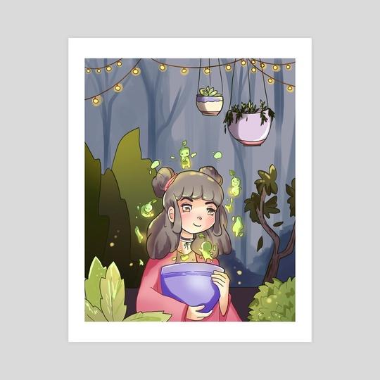 Garden Witch by Aly Jones