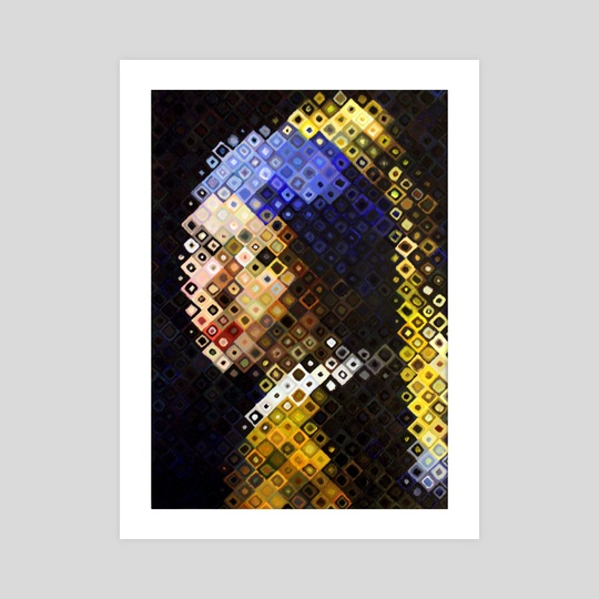 Girl With The Pearl Earring by hazel thexton