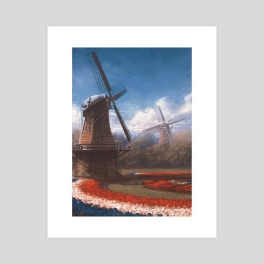 Windmills by Petr Stovik