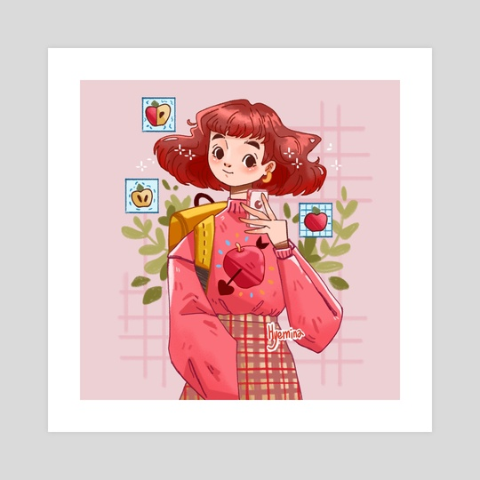 Apple Girl by Hyemin Yoo