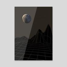 Night Trip - Acrylic by Cosmic Vault