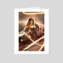 WONDER!  - Art Card by Kode Subject