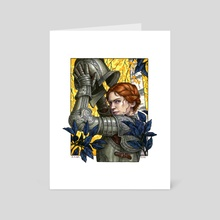 The Lioness - Art Card by Elisabeth Alba