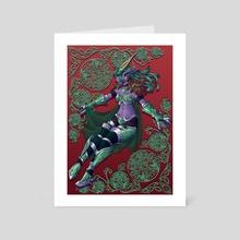 The Dreamer - Art Card by María Jesús