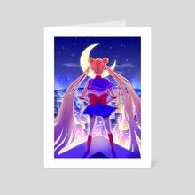 Sailor Moon - Art Card by Hannah Lee