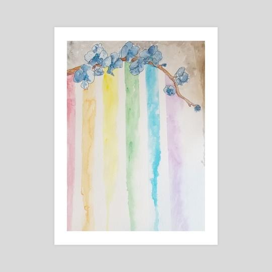 Rainbow Orchids by Kallie Hunchman