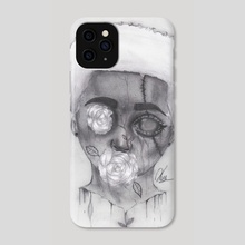 """Rose Boy"" Fresh White Version"" - Phone Case by Ken Edwards"