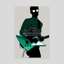 Sixty Watts - Stars - Canvas by Gianmarco Magnani