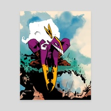 The Maxx (Outback) - Canvas by Mal Jones