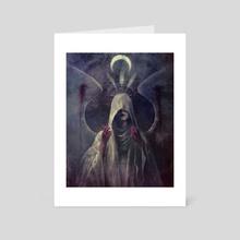 Martyr - Art Card by Jason Engle