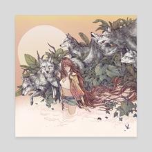 Dawn - Canvas by Erica Williams