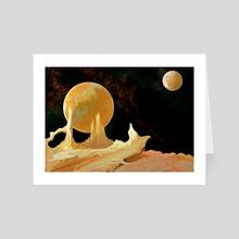 Gold - Art Card by Frankie Smith