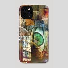 Mystery three planets - Phone Case by Bruce Rolff