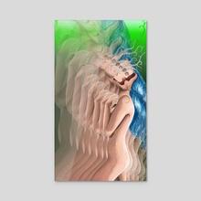 Nude Transcending - Acrylic by Taco Designs
