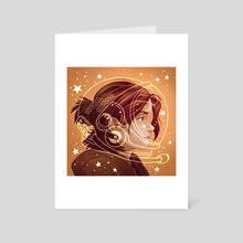 Astronomic Daydream - Art Card by Miguel Co
