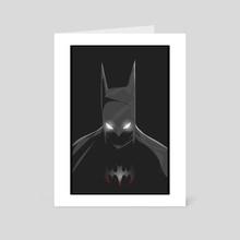 batman  - Art Card by David  Eikeland