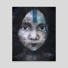 Moon Child - Canvas by Ryan Upp