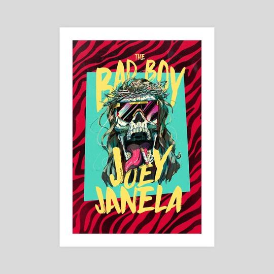 The Bad Boy Joey Janela by Ricardo Lopez Ortiz