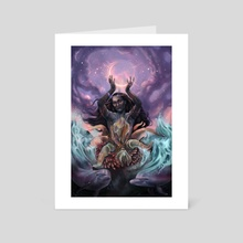 Delphinus - Art Card by Jessica R U Bishop