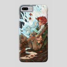 The Name of the Wind - Kvothe - Phone Case by Grace Fong
