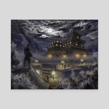 Night of the Ninja - Canvas by BDJ