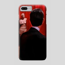 Welcome to the Black Lodge - Phone Case by Brad Collins