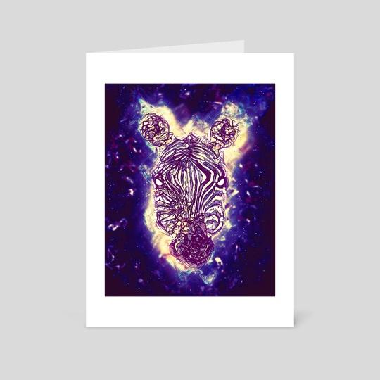 Zebra Artwork by Imagi  Factory