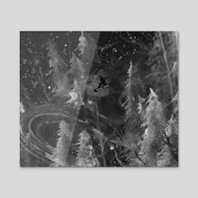 Youth - Acrylic by Ra Lu