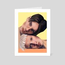 Lovers - Art Card by Ivana Stefanova