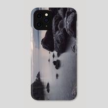 Rocky Lake Coastal Photo - Phone Case by Rihards Krjucins