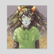 look at you - Canvas by neuuen ешь подумой