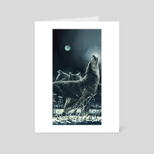 Wolves - Art Card by Zhovba Pavel