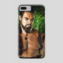 Khal Drogo Fanart - Phone Case by Guy Gondron