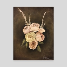 Luminous Blossoms - Canvas by JENNIFER LIDDICOAT