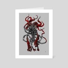 Bloodborne Moon Presence - Art Card by Katlego