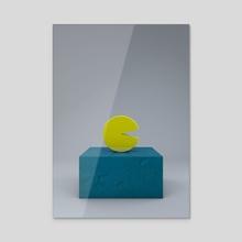 Pac - Acrylic by Selçuk Güçer