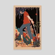 KNY Inosuke - Canvas by mochipanko