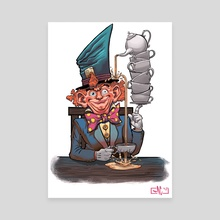 Mad Hatter - Canvas by Mike Canas