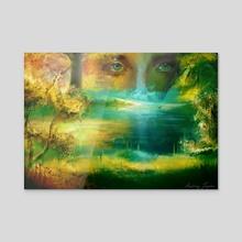Self Perception - Acrylic by Audrey Logsdon