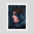 Corvidae - Art Print by Noisyghost
