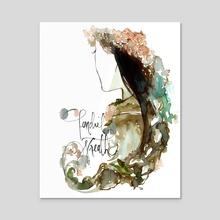 Tendril Wreath (Genjimonogatari) - Acrylic by Maiji/Mary Huang