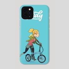 Birdy Girl - Phone Case by David Casas