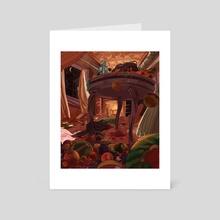 Fruit Basket - Art Card by Kate Haberer