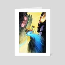 Joyride. - Art Card by Darren  Douglas