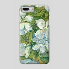 Cherry flowers - Phone Case by Dina Morzhina