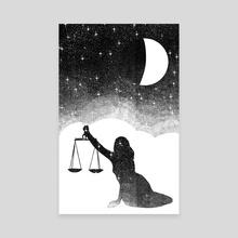 Libra - Canvas by Malcolm Maune